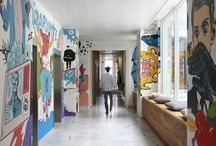 pop art inspired interior design