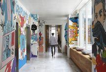 pop art inspired interior design
