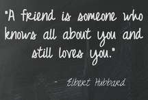 That's what friends are for...