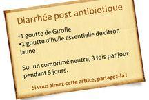 Diarrhée post antibiotiques