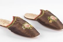 Shoes: Slippers & Mules / by Sew 18th Century