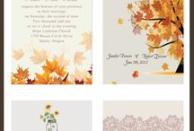 Paper Trails / Wedding Invites