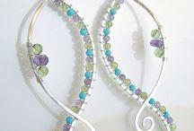 naušnice - earrings