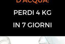 8 bicchieri acqua dieta