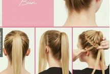 Hairstyles / U can find the cites styles, formal casual or just basic ones
