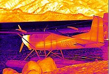 Thermal Imaging - Aircrafts & Artillery / Thermal images of various aircraft & artillery from SPI Corp. www.x20.org