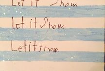 Our artwork / Let it snow let it snow let it snow  / by Lori Labani