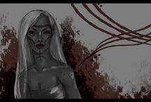 Tyyneart - dragon age doodles