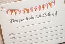 Birthday Celebrations / by Pretty Little Things
