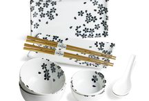 Chopstick Wares / Chopsticks with creative and beautiful bowl sets.