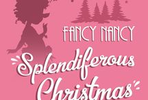 "Fancy Nancy Splendiferous Christmas - The Musical / Playing November 26-December 29 at The Osher Studio in Berkeley.  Book by Cara Lustik. Music by Randy Klein. Book & lyrics by Matthew Hardy. Based on the Book ""Fancy Nancy Splendiferous Christmas"" written by Jane O'Conner and illustrated by Robin Preiss Glasser. Directed by Hannah Dworkin."