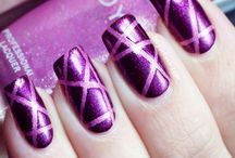 Pancreatitis Awareness Nails / by Lindsey Benage