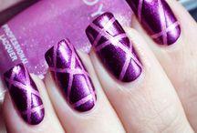 Pancreatitis Awareness Nails