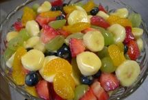 FRUIT SALAD AND DIPS / FRUIT SALAD AND DIPS