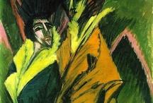 Peinture expressionniste allemande