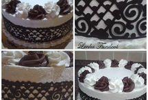 Dorty šlehačkové  (cream cakes) / Moje tvorba :) (My creation :))