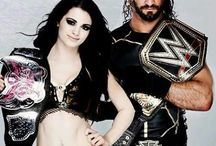 Saige  / One of my favorite wwe ships paige and seth rollins they look so good together