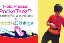 """NEW Hold Please! PockeTeez™ / We are so excited to introduce our latest product to you - Hold Please! PockeTeez™!  If you've got kids, you know how much they love to collect """"treasures"""" while they are out and about. And at the end of the day, you find that stuff in your bag. Well, now you can reclaim your pockets! PockeTeez™ shirts have been described by parent testers as shirts and fanny packs all-in-one. You can order them now on Kickstarter! http://kck.st/2fe6ZBx"""