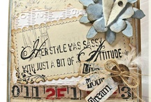 Tim Holtz cards & Tags