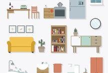 template furniture