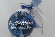 First House Personalized Ornament