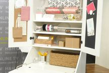 Organizing Wrapping - Scrapbooking / How to organize creative outlets, like wrapping or Scrapbooking.
