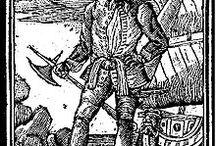 Pirate Captain John Coxon / Read more at www.coxonclub.com