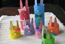 Easter Crafts and Activities / Easter crafts and activities to do with my young children. Ideas for crafts to learn about and celebrate Easter, and gifts and cards to make for others.