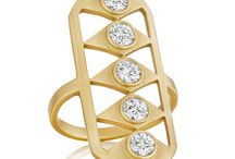 DW RINGS / Dress up your mani with one (or a few) of our signature rings inspired by #artdeco influences