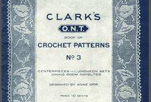 Vintage crochet / knitting books