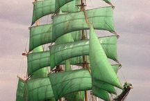 Sailing Ships / Old and New Sailing Ships.