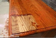 How to paint wood