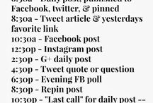 SOCIAL MEDIA / Spreading the word...
