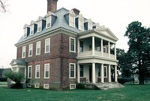 Antebellum Mansions - Virginia / These are both present day and period photographs of mansions from the pre-Civil War period in Virginia. / by Puget Sound Civil War Roundtable