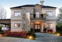 Casas clásico moderno