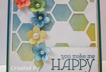 Stampin' Up! - Hexagon Hives & Punch