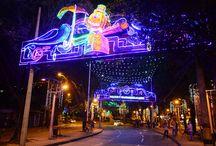 Alumbrados navideños EPM / Imágenes del alumbrado navideño que EPM instala en la ciudad de Medellín