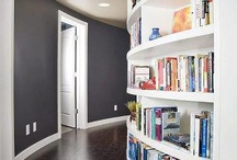 BookShelves / -book lovers never go to bed alone-