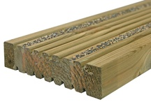 Timber deck board profiles / DeckMark accredited