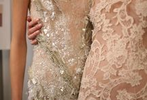 Pastel Lace. / Lace and colour inspirations