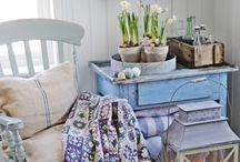 Woonkamer Oude meubels restylen / Restylen