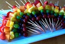 Fruit- en groentenhapjes