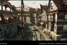 mediaeval town
