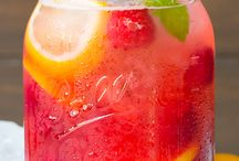 Lemonades, drinks, ...