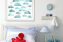 Watercolour Art Prints / The Perky Sloth supplying original watercolour art prints. Modern home décor art prints, Nursery art prints, Children's art prints, Wall Art Prints, Art Prints for home,  https://www.etsy.com/au/shop/ThePerkySloth