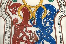 Calligraphy and Illumination: Scroll ideas and inspiration / by Tani Mough
