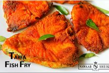 Starters - Fish / Click here to know about the available starters of Fish varieties in our Restaurant.