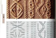 Вязание спицами, Patterns