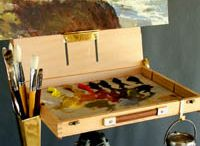painting : plein air / gear, supplies, tips and inspiration for painting outdoors / by pinning spinster
