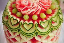 fruits & vegetables decoration